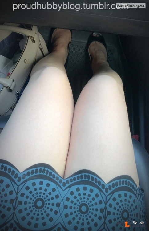 No panties proudhubbyblog: No one would guess I'm not wearing anything... pantiesless Public Flashing