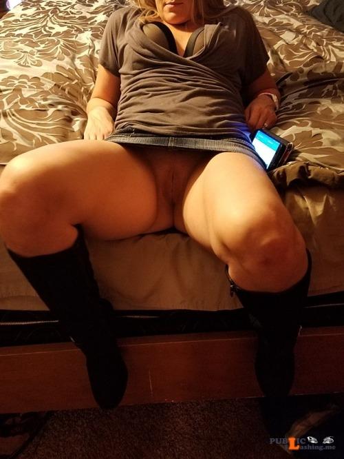 No panties jojo2783: Getting ready to meet a fuck date??? Me, me, me ? pantiesless Public Flashing