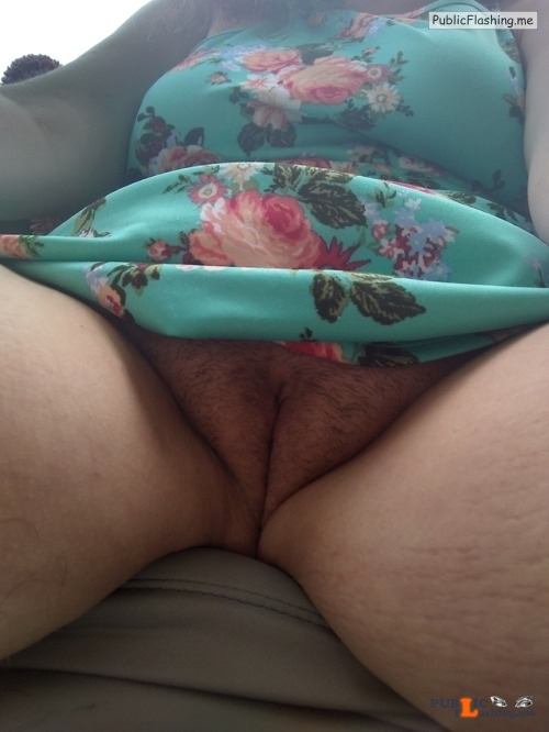 No panties naughty tatertot: I try to give a good shot of my pussy to... pantiesless Public Flashing