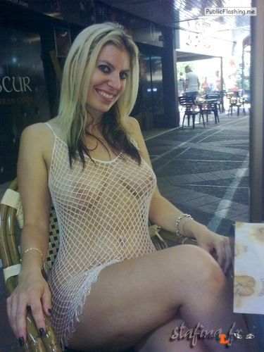 Public flashing photo theaccidentalnudity: MORE Public Flashing