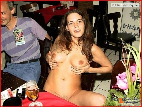 Public nudity photo naughtygirlohmy:buy me a drink and I'll let you squeeze... Public Flashing