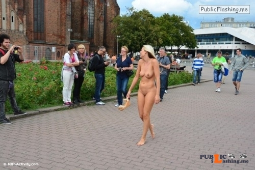 Public nudity photo exposed on public:Paris in Berlin (more in comments)... Public Flashing