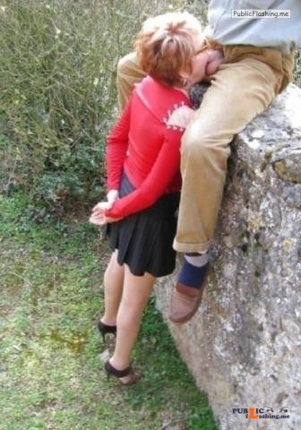 Exposed in public Good wife… Public Flashing