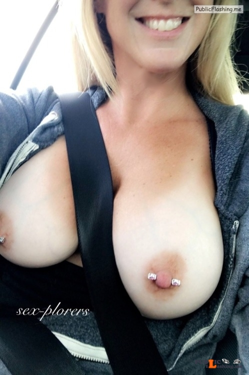 Outdoor nude selfshot sex plorers:Tuesday…going to work… Public Flashing