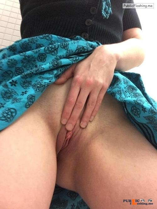 No panties sexyworkselfies: meet me in the bathrooms and fuck me silly? pantiesless Public Flashing