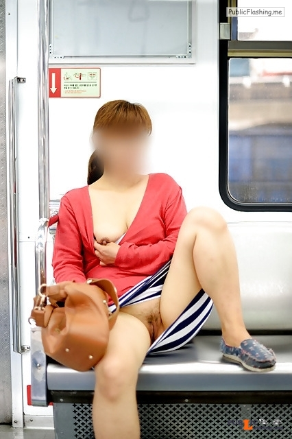 carelessinpublic: In a short skirt and showing her boobs and... flashing in public picture Public Flashing