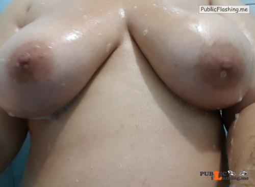 No panties xxpixiegirlxx: Just soppy wet tits. I think your tits deserve... pantiesless Public Flashing