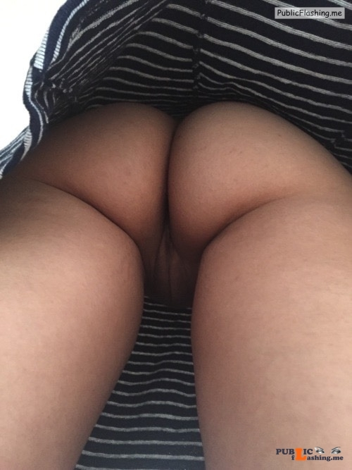 No panties hottysjourney: Enjoy the view Thanks for sharing the view... pantiesless Public Flashing