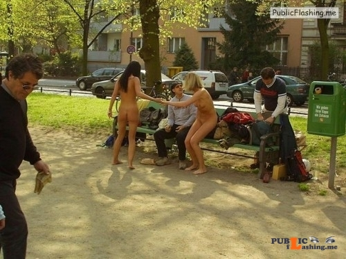 Public nudity photo outside only:do you want some more sluts flashers in public... Public Flashing