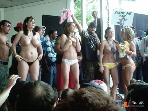 Public nudity photo enf findings: As they strip down to their pants, they notice the... Public Flashing