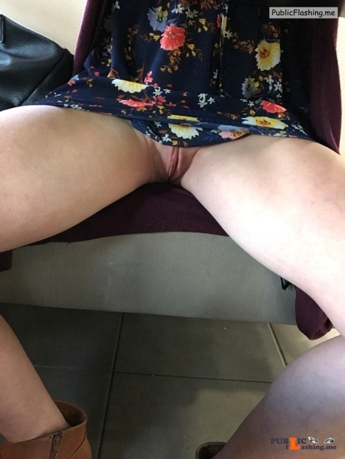 No panties gagging4it82: Out to lunch …and of course no knickers out in... pantiesless Public Flashing