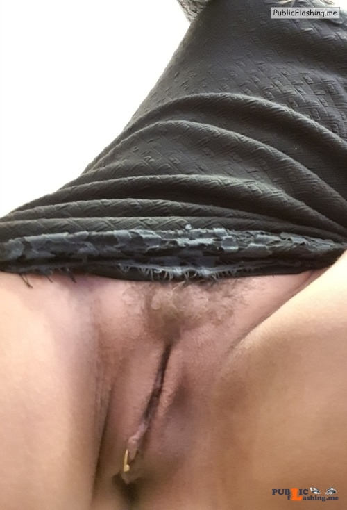 No panties besexyhotwife: Ups, maybe this is a little short! Nevermind,... pantiesless Public Flashing