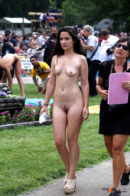Public nudity photo on display for all to see:Will you marry me, Tilly? Follow me... Public Flashing