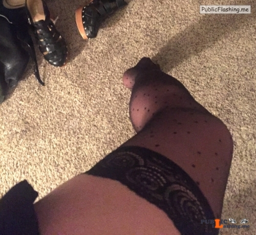 No panties polydolly: ? Getting ready for work … panties or no... pantiesless Public Flashing