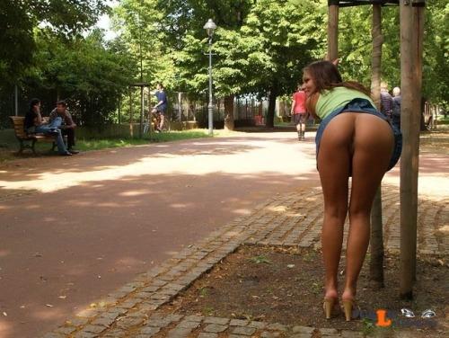 Public nudity photo flashingcollection:More Naked Girls  ... Public Flashing
