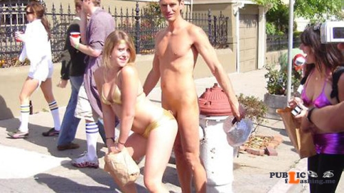 Public nudity photo hiden8kd: walkingandswinging: Public CFNM by Lloyd is sometimes... Public Flashing