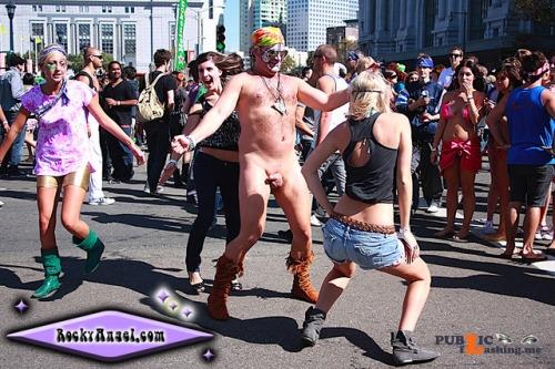Public nudity photo walkingandswinging:Public CFNM swinging   submitted by... Public Flashing