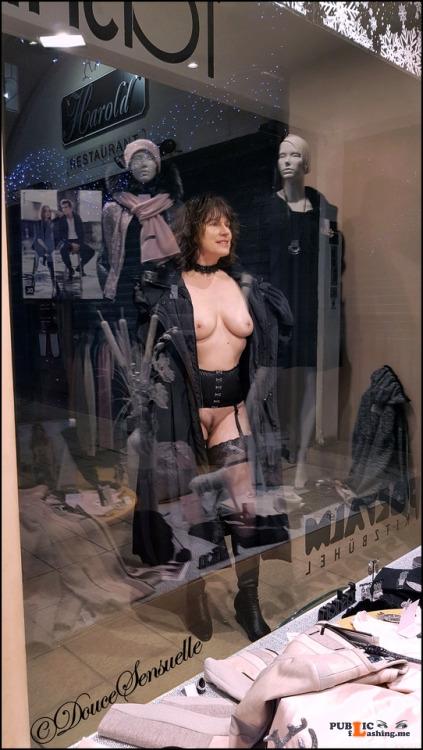 No panties doucesensuelle: Follow us:... pantiesless Public Flashing