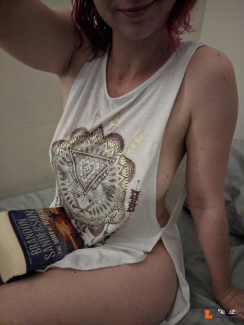 No panties indecentlymeek: Good night tumblr. ? Nighty night pantiesless Public Flashing
