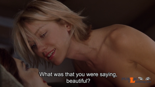 No panties trash rules: Mulholland Drive (2001) Going to watch this... pantiesless Public Flashing
