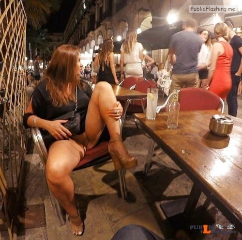 Public exhibitionists lookatherhere: Follow me Public Flashing