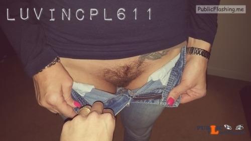 No panties luvincpl611: No panties today Commando friday ? pantiesless Public Flashing