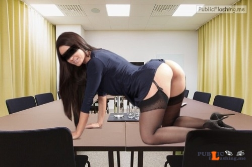 No panties stockholmgirl69: Monday fun at office????#nopantis Would be... pantiesless Public Flashing