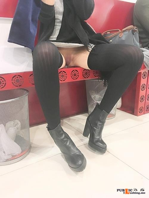 No panties rastal04: Shopping!Please reblog! pantiesless Public Flashing