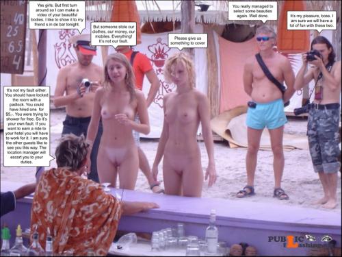Stolen Clothes Nude