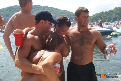 Public flashing photo #party Public Flashing