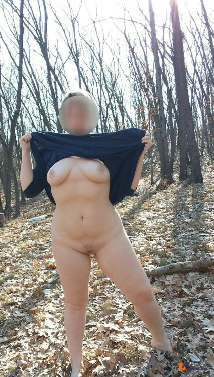 No panties bucolicbeliefs: Flash Commando hikes are the best pantiesless Public Flashing