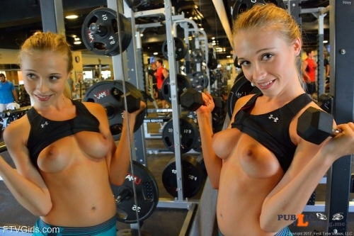 FTV Babes Ya know… down at the gym they have mirrors on just about... Public Flashing