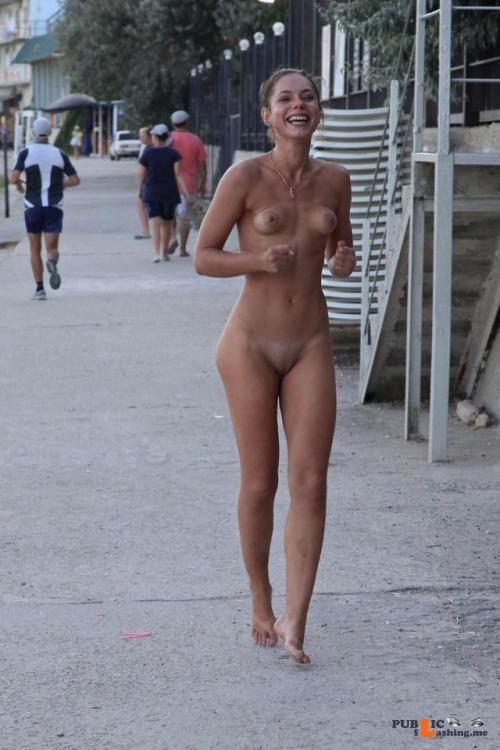 Public nudity photo happyembarrassedbabes:Walking outside by ioutafmspaors Follow me... Public Flashing