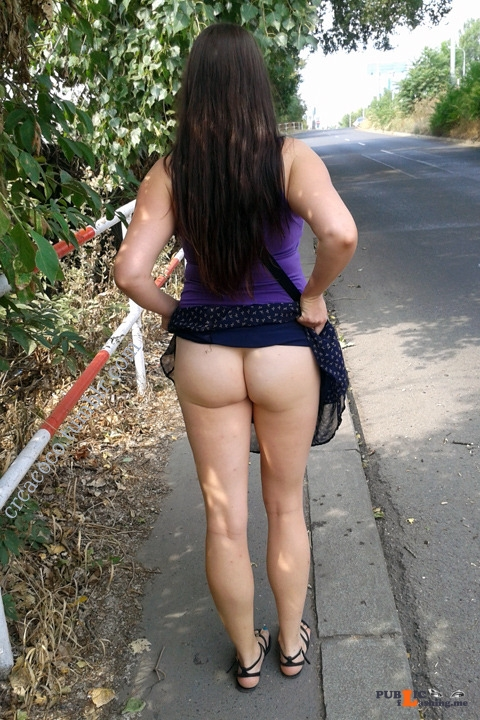 No panties crcacoco: It's that time of year again pantiesless Public Flashing