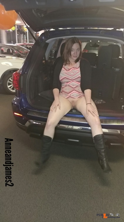 No panties anneandjames2: What if I came with the car? pantiesless Public Flashing