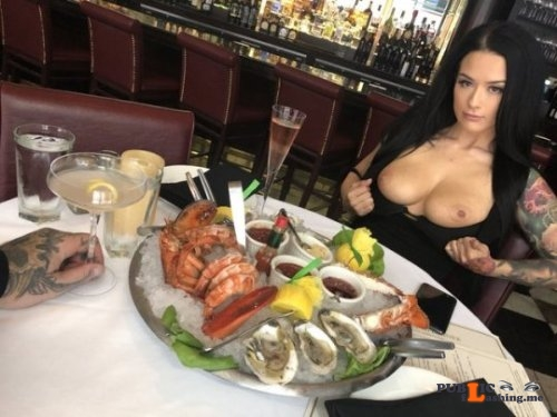Exposed in public Two feasts… Public Flashing