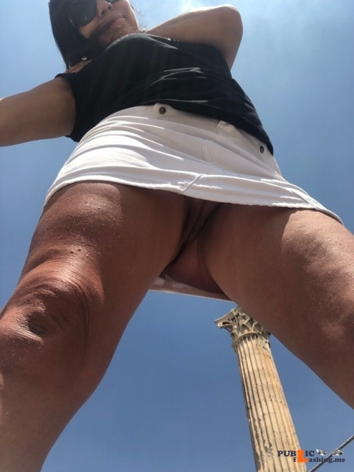 No panties Nice POV @princessmilf123, thanks for the submission pantiesless Public Flashing
