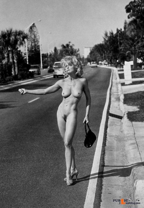 Flashing in public photo Madonna and Jaimie get around… Public Flashing