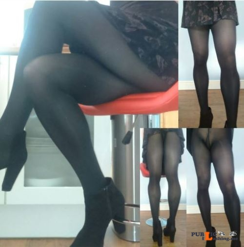 No panties violetlovespantyhoseblog: I'm back! :) Just a few pictures of... pantiesless Public Flashing