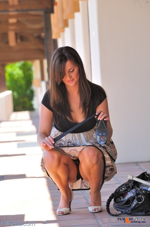 FTV Babes upskirt Lily knows how to dress. Among other things, she knows that if... Public Flashing