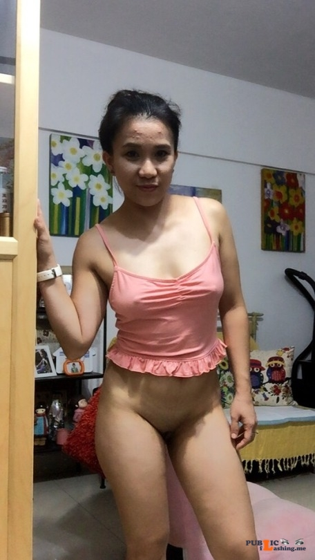 No panties lbfm naughty: …. what will you do if I walk like this inside your house???? pantiesless Public Flashing