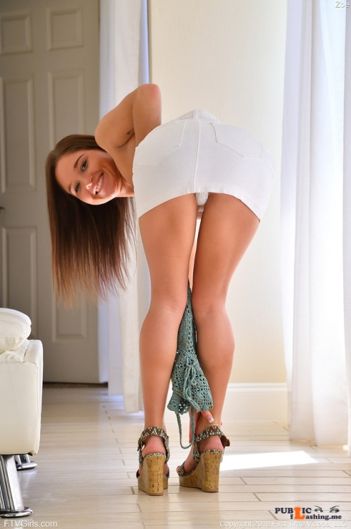 FTV Babes upskirt I go back and forth on the panty question. I love to get a... Public Flashing