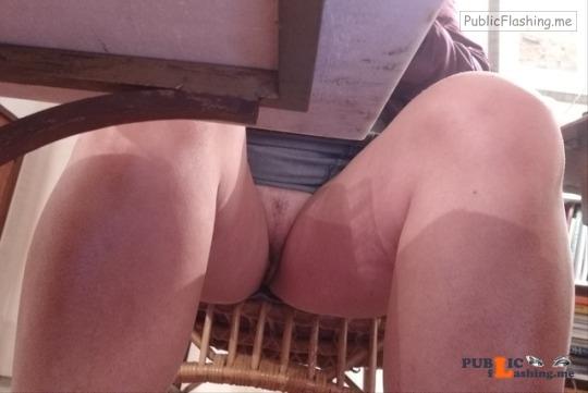 No panties matew9: pantiesless Public Flashing