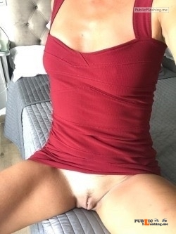 No panties kimthemilf: pantiesless Public Flashing