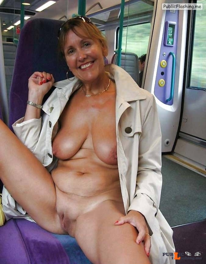 Mature GIFs flashing in train