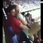 Touching pussy of GF on the stadium VIDEO