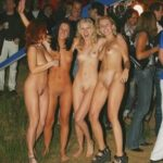 Public nudity photo show-off-girls:party girls Follow me for more public…