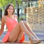 FTV girls upskirt Looks like Roxanna forgot her panties when she went out in that…