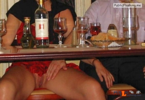 Exposed in public Flirting Wife… Public Flashing