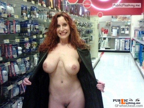 Flashing in public store Nothing like baring it all and flashing your completely naked... Public Flashing